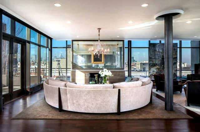 We Present One Of The Most Luxurious Apartments In New York   This  Penthouse Situated In A Prestigious Residential Building In Soho And Offers  A ...