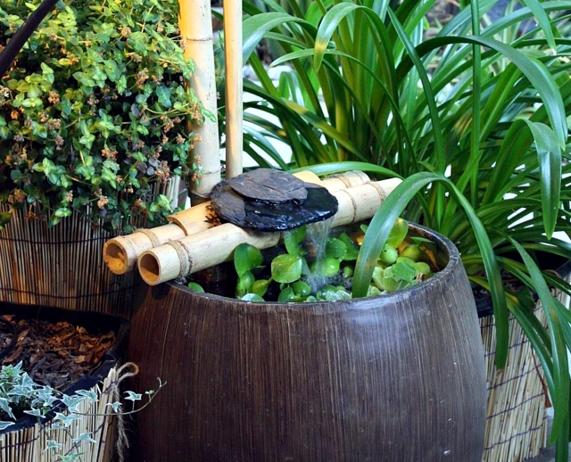 Building a Bamboo same source - water games in the garden