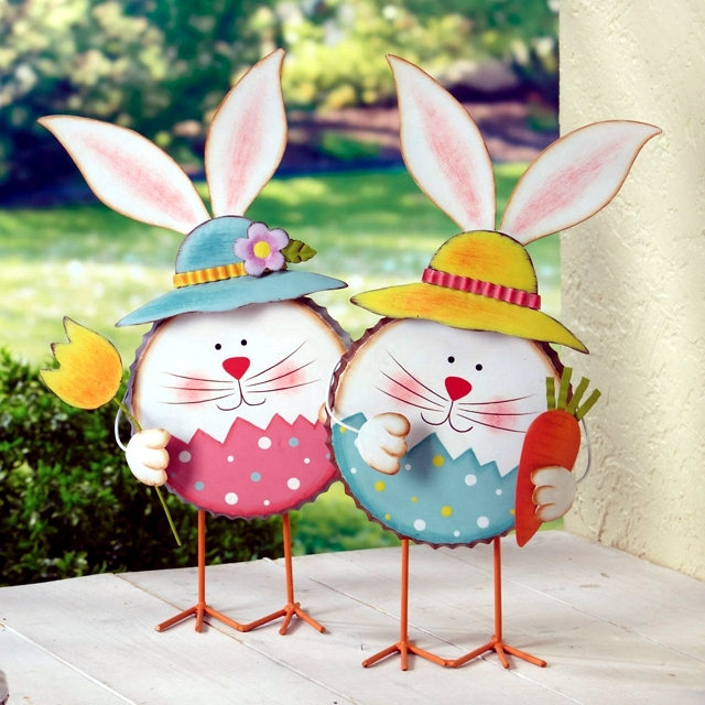 Easter Paper Crafts 22 Ideas With Fun Animal Silhouettes