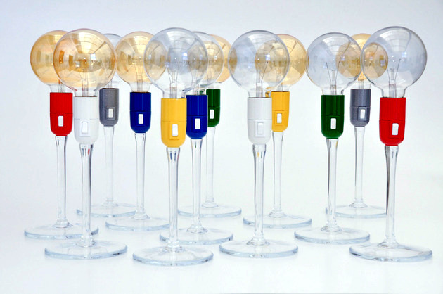 Whimsical table lamp - fascinating design of each apartment