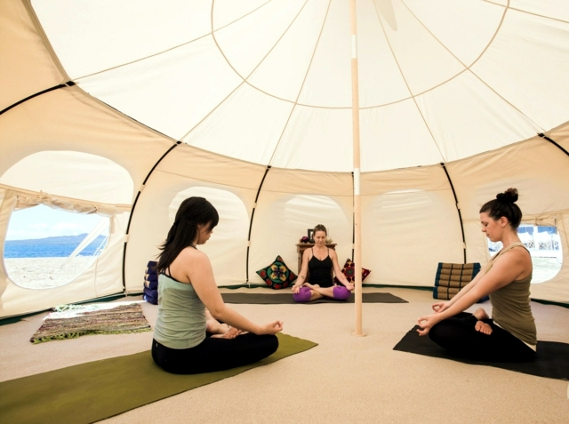 Glamping tent camping holiday of pure luxury!