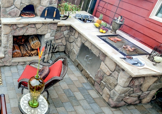 BBQ Fireplace & Pizza Oven