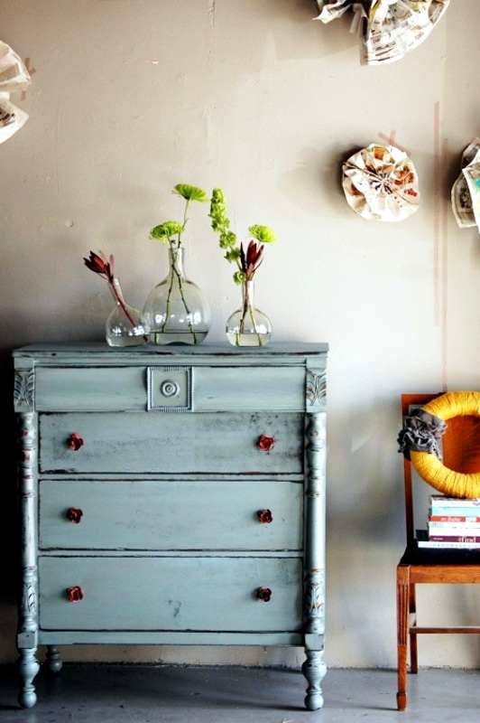 DIY vintage furniture - 3 Techniques to distressed - DIY Vintage Furniture – 3 Techniques To Distressed Interior Design