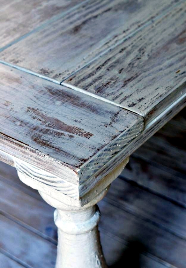 DIY Vintage Furniture 3 Techniques To Distressed