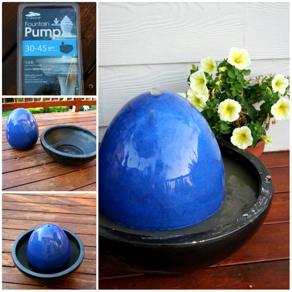 3 refreshing ideas for garden fountains to make your own for Build your own fountain outdoor