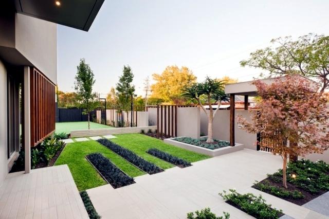 Landscape Garden balanced minimalist design style Cos  Interior ...