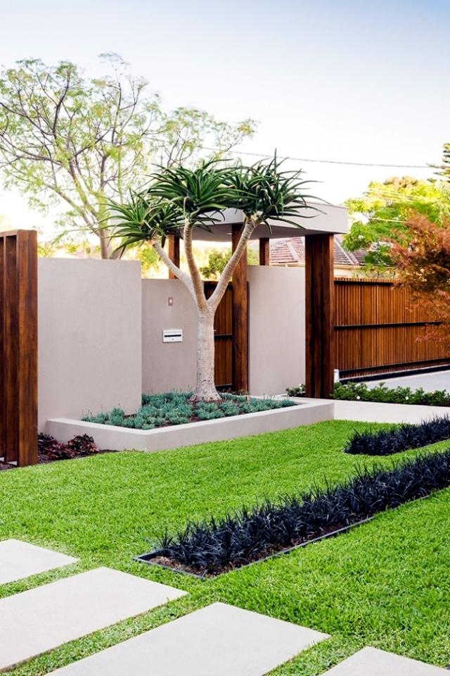 Landscape Garden balanced minimalist design style Cos