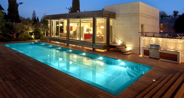 Pool Lights – a highlight in the outer zone | Interior Design Ideas ...