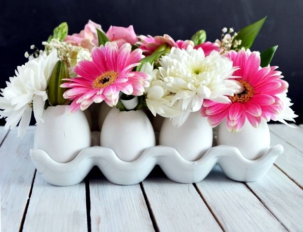 With Eggshells You Can Decorate A Beautiful And Natural Way To Your Home The Imagination Knows No Bounds If Want Make Decorating Taste Egg