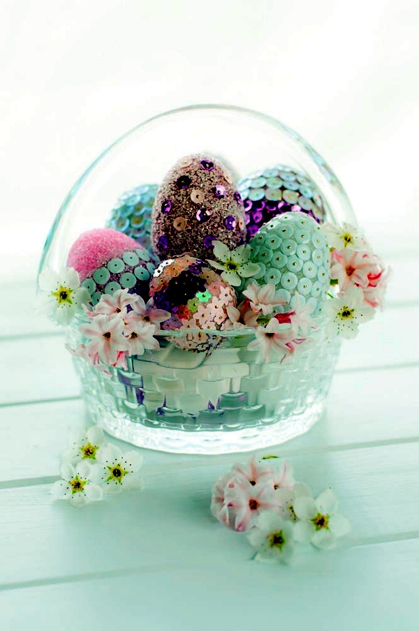 Decorative Crafts with children in the spring and Easter - 20 Great Ideas