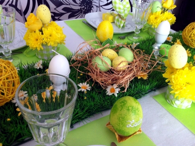 Easter festive table