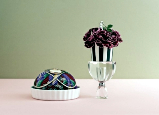 Printing Ideas to decorate formal etiquette as an art table