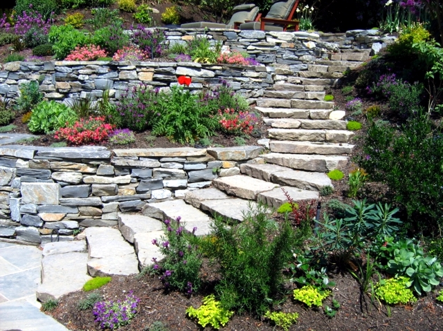 17 Ideas For Garden Design Stones Are Versatile