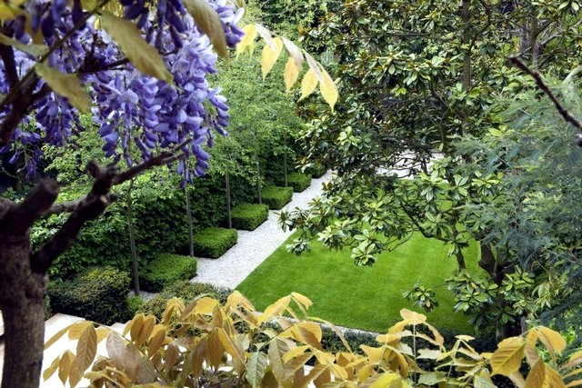 Lawn mowing and scarifying - Tips lawn in spring
