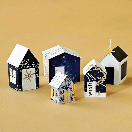 Christmas Paper Crafts Ideas For Upcycling Cards Interior Design Ofdesign