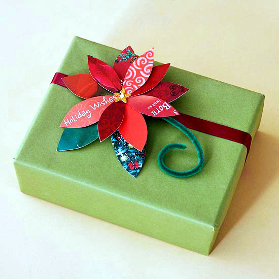 Christmas Paper Crafts - Ideas for upcycling Christmas cards