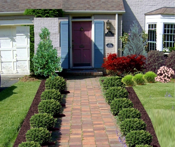 Home Garden Design Ideas: Examples Of Front Garden Design And Planning Family Homes