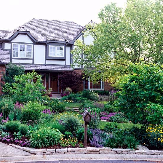Examples Of Front Garden Design And Planning Family Homes
