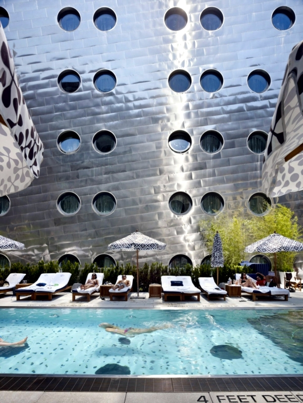 The Dream Hotel in New York - the creative modern architecture Hotel