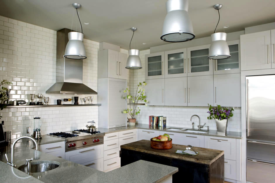 Blocks Firefighting And Industrial Kitchen Ceiling In The