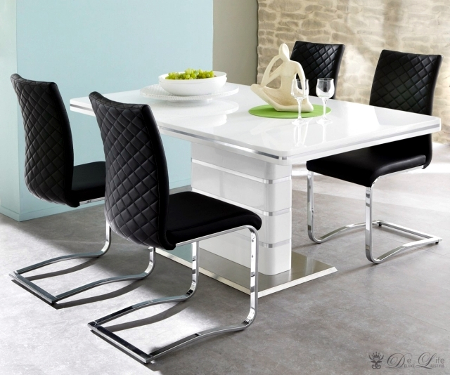 Today's modern dining room furniture, elegant and functional trends