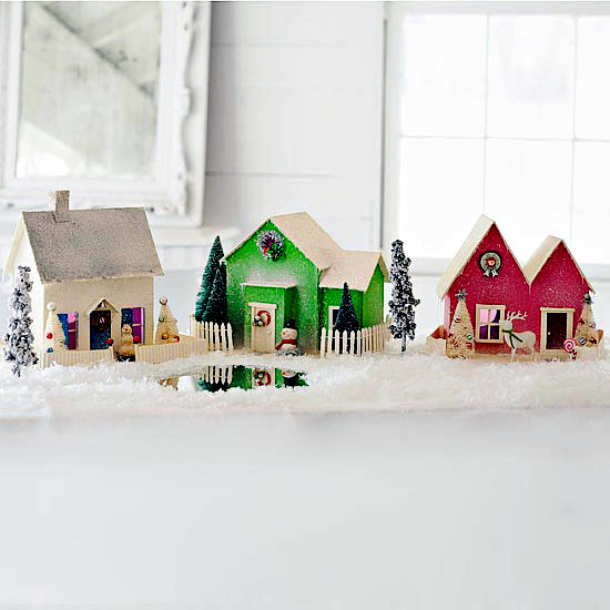 Tinkering lovely decoration for Advent and Christmas with children