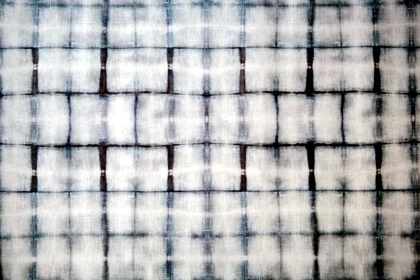 wallpaper design motif inspired Shibori textile art