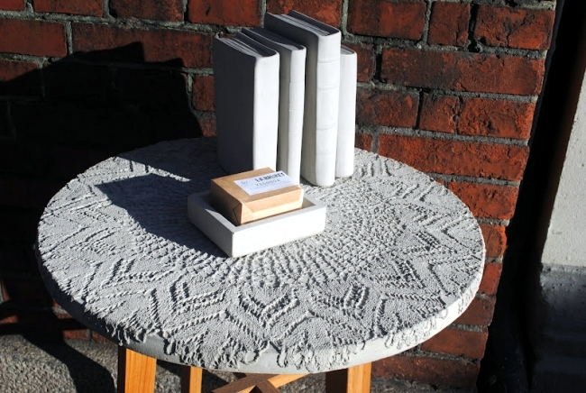 15 concrete furniture designers with a unique aesthetic for interior and exterior