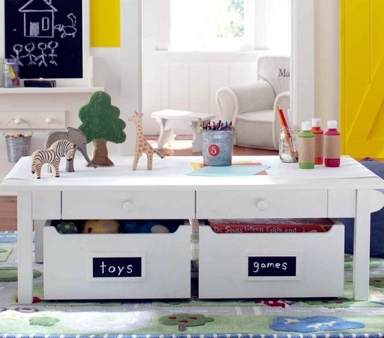 Modular furniture for children's rooms combine functionality and design