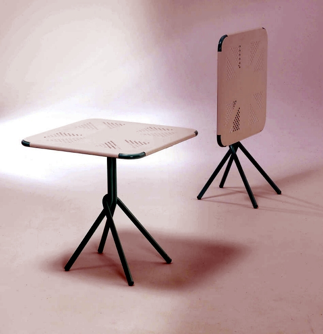 33 ideas folding table for more space and comfort in the home and garden
