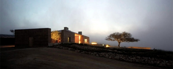Wine tasting in modern house in the vineyards of the Casablanca Valley
