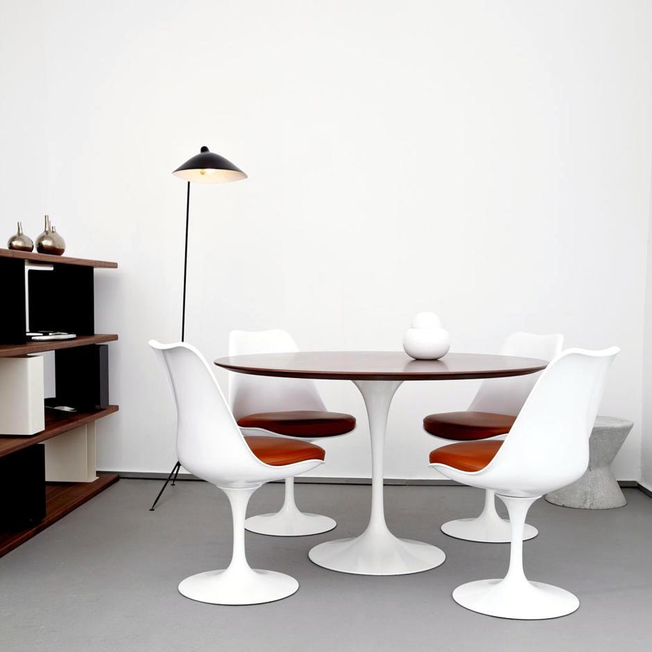 Furniture by eero saarinen tulip interior design ideas for Runder tisch tulip design eero saarinen
