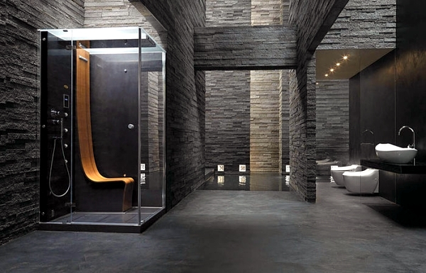 glass shower - Comfort at a high level for the bathroom