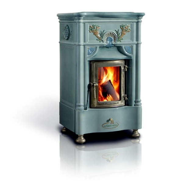 Castellamontes classic earthenware stoves are real flashy