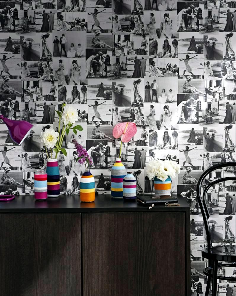 colored vases painted front pasted interior design ideas. Black Bedroom Furniture Sets. Home Design Ideas