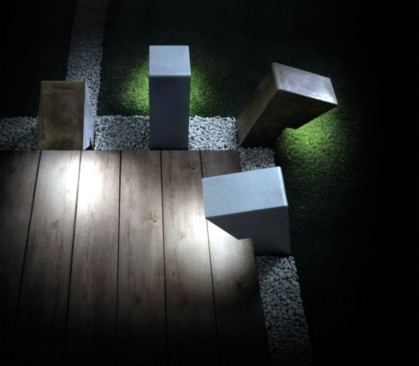 Modern garden lamps Architectural aspect of Torremato Interior