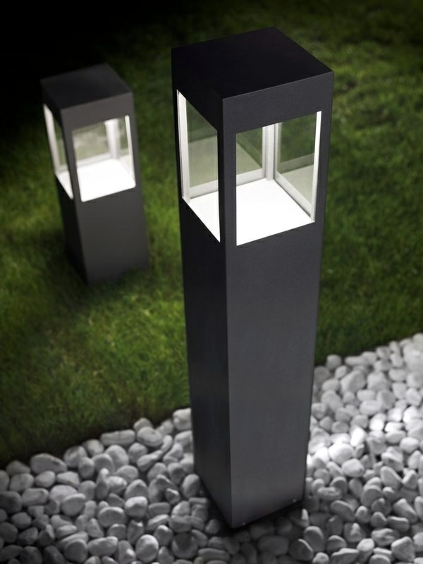 Modern Garden Lamps Architectural Aspect Of Torremato Interior Design Ideas Ofdesign
