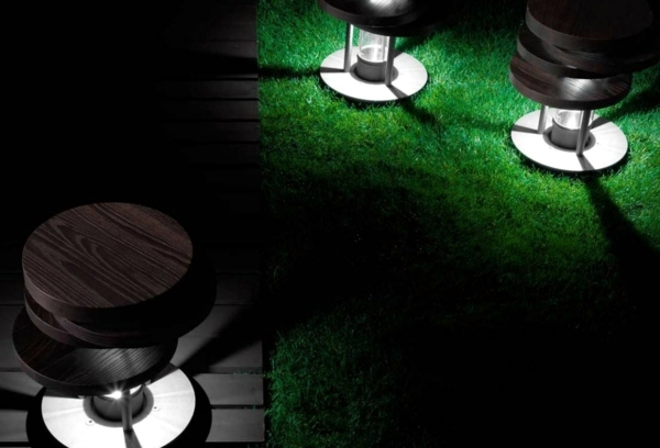 Modern garden lamps Architectural aspect of Torremato