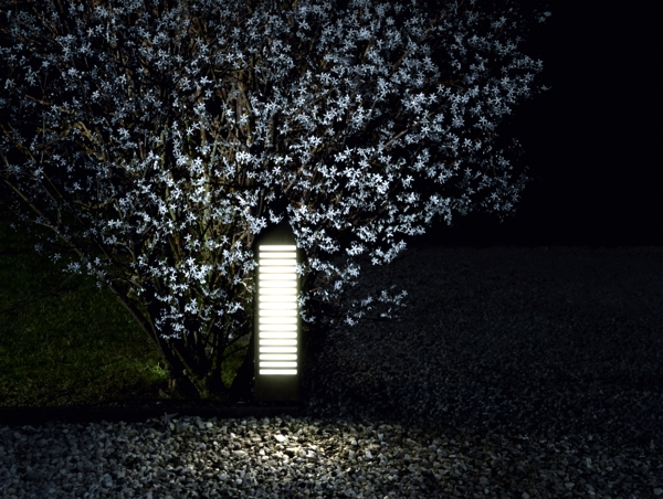 Modern garden lamps Architectural aspect of Torremato