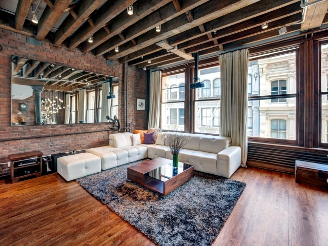 The Industrial Look In A Lovely Apartment SoHo New