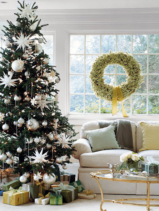 christmas decorations formal - How To Decorate A Big Christmas Tree