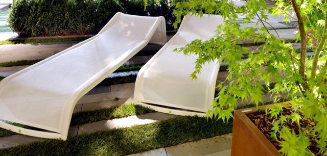 22 garden chairs modern design, high quality materials solid