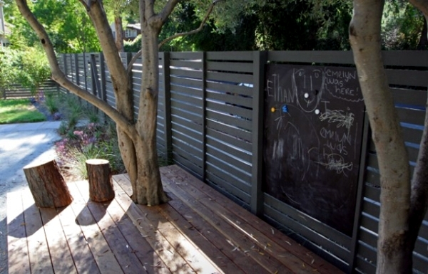 Another highlight in the garden - Creative Design Ideas fence