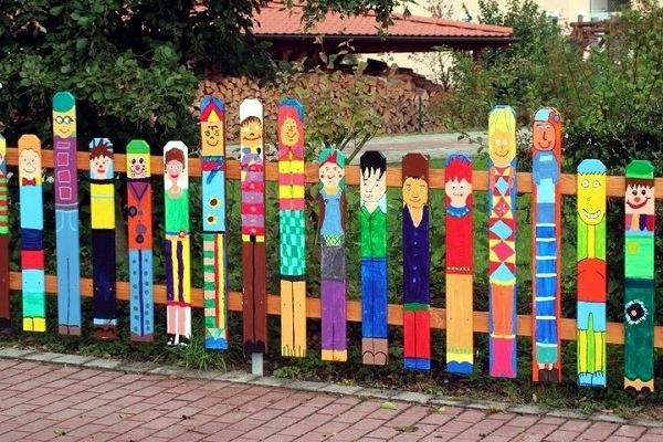 Another highlight in the garden - Creative Design Ideas fence