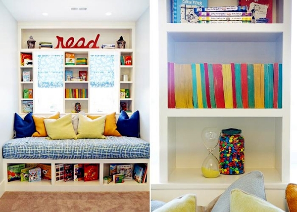 Make And Decorate A Hug And A Reading Corner In The Nursery Interior Design Ideas Ofdesign