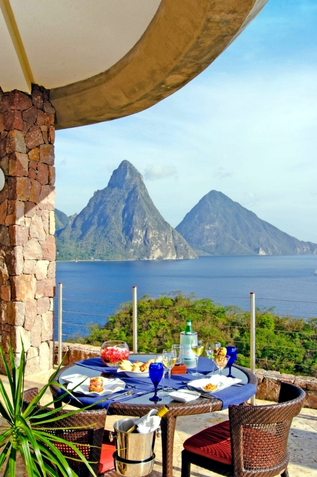 Jade Mountain Luxury In Harmony With Nature In The