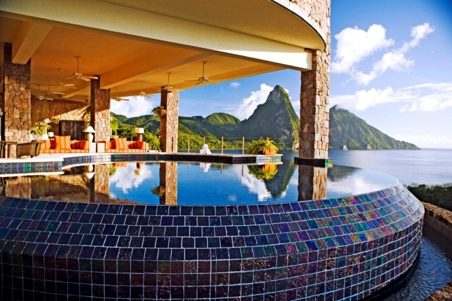 Jade Mountain - luxury in harmony with nature, in the Caribbean