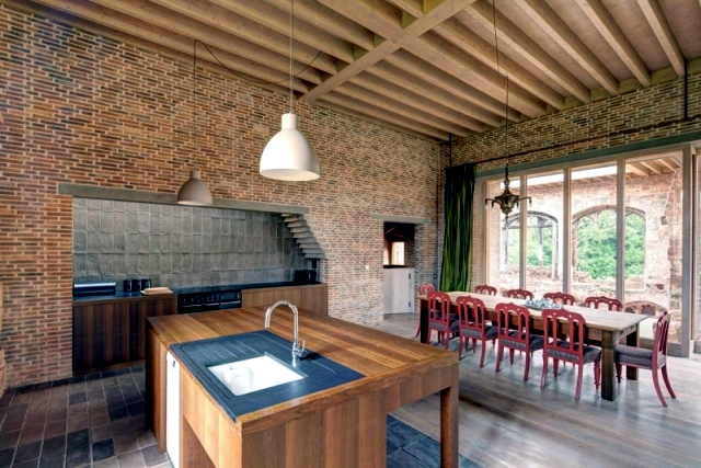 A mansion dating from the 12th century is a modern hotel