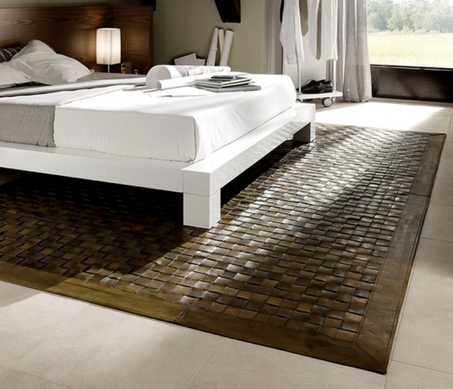 Leather Carpets Are Back In Fashion Aspen Design Rug