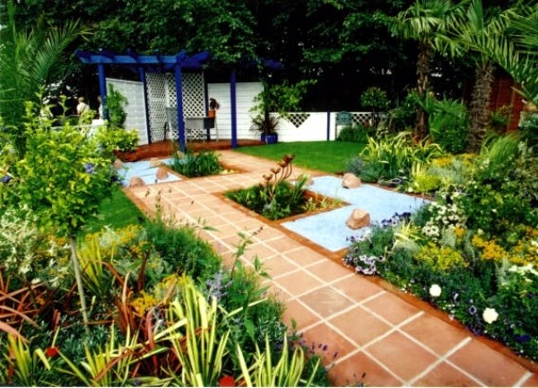 Perform a detailed analysis before designing the courtyard garden